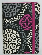Vera Bradley Small Kindle eBook Nook Sony Reader Cover Paisley Pink Gray White