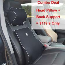 Stocktake Sale, Car Lumbar Support Cushion Head Pillow Combo Deal, BH & DN