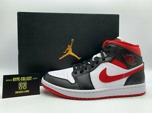 Nike Air Jordan 1 Mid Gym Red White Black NEU Sneaker High Low Retro Dunk Force