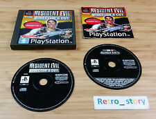 Sony Playstation PS1 Resident Evil Director's Cut PAL