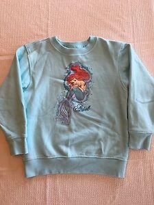 NFGrfd The Little Mermaid Ariel Rock Moon Hip-Hop Pullover Hooded Sweatshirts Sports Outwear for Boys Girls Teens Junior