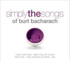 Simply the songs of Burt Bacharach 2CDs 2009, Various Artists, new & sealed