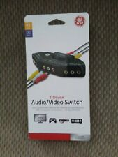 Ge 3-Device Audio/Video Switch - New & Sealed