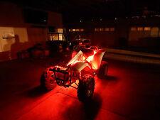 Honda Pioneer ATV UTV Quad 4 Wheeler 6pc Pod Led Underglow Neon Body Kit