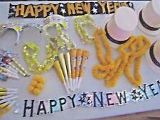 NEW YEAR'S EVE 6 People KIT 3 Top Hats 3 Tiaras 6 Horns 6 Bubbles 6 Lays + MORE!