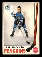 BOB BLACKBURN 69-70 O-PEE-CHEE 1969-70 NO 113 EX 17605