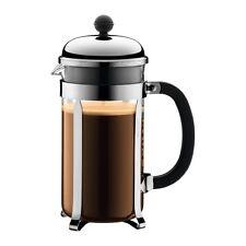 BODUM Chambord Press Coffee Maker (silver) - 1l