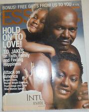 Essence Magazine T.D. Jakes & Angela Davis December 2001 020715R