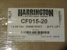 Harrington Cf015 20 15t Chain Hoist