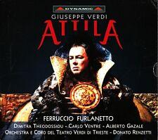 VERDI- Attila, Live 2-CD -Donato Renzetti (Ferruccio Furlanetto/Theodossiou)