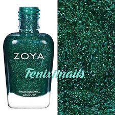 ZOYA ZP861 MERIDA lush green metallic nail polish ~ URBAN GRUNGE Collection *New