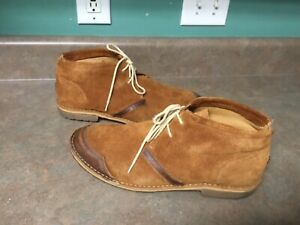 Men's Timberland Earthkeepers 5236R Rugged Suede Chukka Boots Size 11W (CON32)
