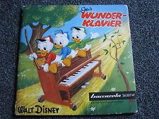 Walt Disney-Das Wunderklavier 7 PS+ Comic-Donald Duck-1960-Germany-Baccarola