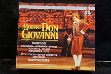 W.A. Mozart - Don Giovanni / Hampson/Harnoncourt    3 CD-Box