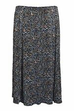 Floral Maxi Skirts Plus Size for Women