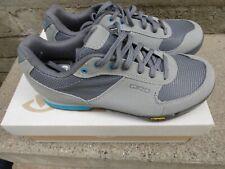 Giro Womens Sz37 Petra VR Titantium Blue Cyling Shoes NIB