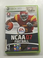 NCAA Football 07 (Microsoft Xbox 360, 2006) GameStop Seal! NEW! Read Description