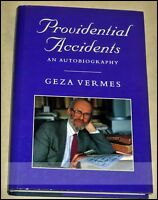Providential Accidents: An Autobiography by Geza Vermes (Hardback, 1998)