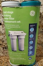 New Ge Fxsvc Dual Stage Drinking Water Filtration System Replacement Filter