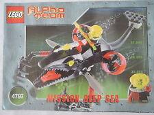 LEGO Bauanleitung / Instruction Alpha Team 4797