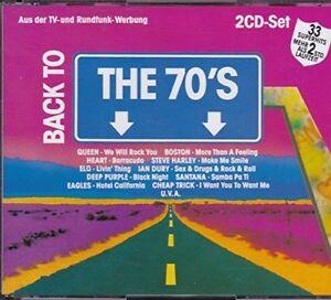 Back to the 70's (1991, EMI) Queen, Heart, ELO, Deep Purple, Eagles, Sa.. [2 CD]
