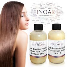 INOAR MOROCCAN BRAZILIAN KERATIN BLOW DRY TREATMENT KIT MULTIPLE SIZES
