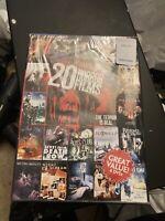 20 Horror Films, Vol. 5 (DVD, 2013, 4-Disc Set)