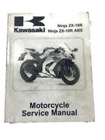 2011 Kawasaki Ninja ZX-10R Service Repair Shop Manual STAINED WORN FACTORY OEM