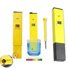 Electric Pocket Digital Ph Meter Tester Hydroponics Pen Aquarium Pool Water Test
