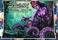 Blink 182 Poster 6/16/2016 Virginia Beach 99/182 Unsigned