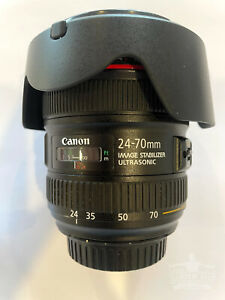 Canon EF 24-70mm f/4.0 IS Lens