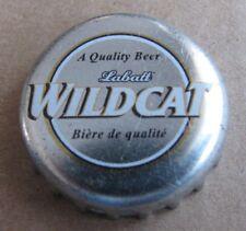 LABATT WILDCAT CANADIAN NO DENTS BEER BOTTLE CAP OBSOLETE