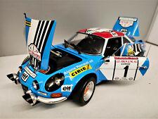1:18 Kyosho Renault Alpine A110 1973 Tour De Corse Winner #1 Nicolas NEU NEW