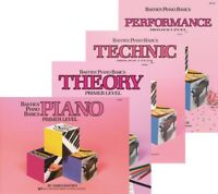 Bastien Piano Basics Primer Level - 4 Book Pack (Lesson/Theory/Perf/Technic)