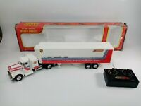 Vintage New Bright Remote Control Heavy Hauler Made In Hong Kong Tested Working