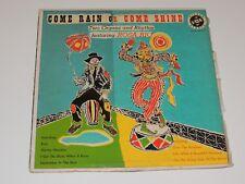 COME RAIN OR COME SHINE TWO ORGANS AND RHYTHM FT ROSA RIO Lp RECORD HAMMOND JAZZ