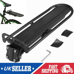 Bicycle Mountain Bike Rear Rack Seat Post Mounted Cargo Pannier Luggage Carrier