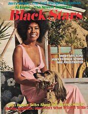 Supremes Mary Wilson 1972 Black Stars Magazine Martha Reeves