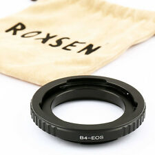 """B4 2/3"""" CANON FUJINON lens to Canon EOS EF Mount Adapter 5D III 7D II 70D 700D"""