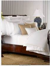 Nip $560 Ralph Lauren 3pc Full/Queen Palmer Duvet Cover/Shams Burnished Chamois