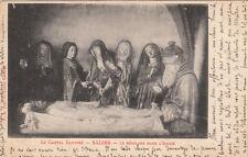 SALERS le sépulcre dans l'église cliché castanié écrite