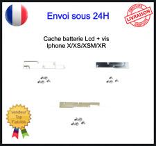 Plaque Protection Fixation Nappe Batterie Ecran Lcd + Vis Iphone X XR XS XSM