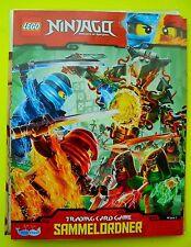 Lego Ninjago Serie 2 Trading Card Game Sammelmappe Mappe Sammelordner Ordner