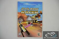 Star Wars Racer: Episode I Owners Manual Computer PC Game 1999