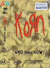 KORN - WHO THEN NOW? VHS 1996 PAL