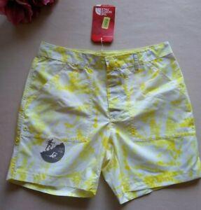 THE NORTH FACE NWT Girl UPF50 Flashdry Hiking/Swimming Shorts Yellow L(14/16)$40