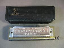 Hohner CHROMONICA I 260 Mundharmonika C-Dur mit Tasche