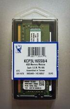 Kingston KCP3L16SS8/4 SODIMM DDR3L 1600 MHz Laptop RAM MEMORIA NUOVO