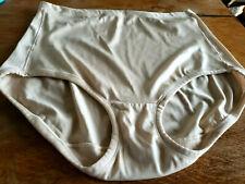 "New listing Vtg Vanity Fair Body Caress Panties Briefs sz L 7 Tan 32"" Sissy"