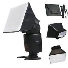 Softbox Flash Bounce Diffuser Speedlight Speedlite Canon 600EX-RT 580EX 430EX II